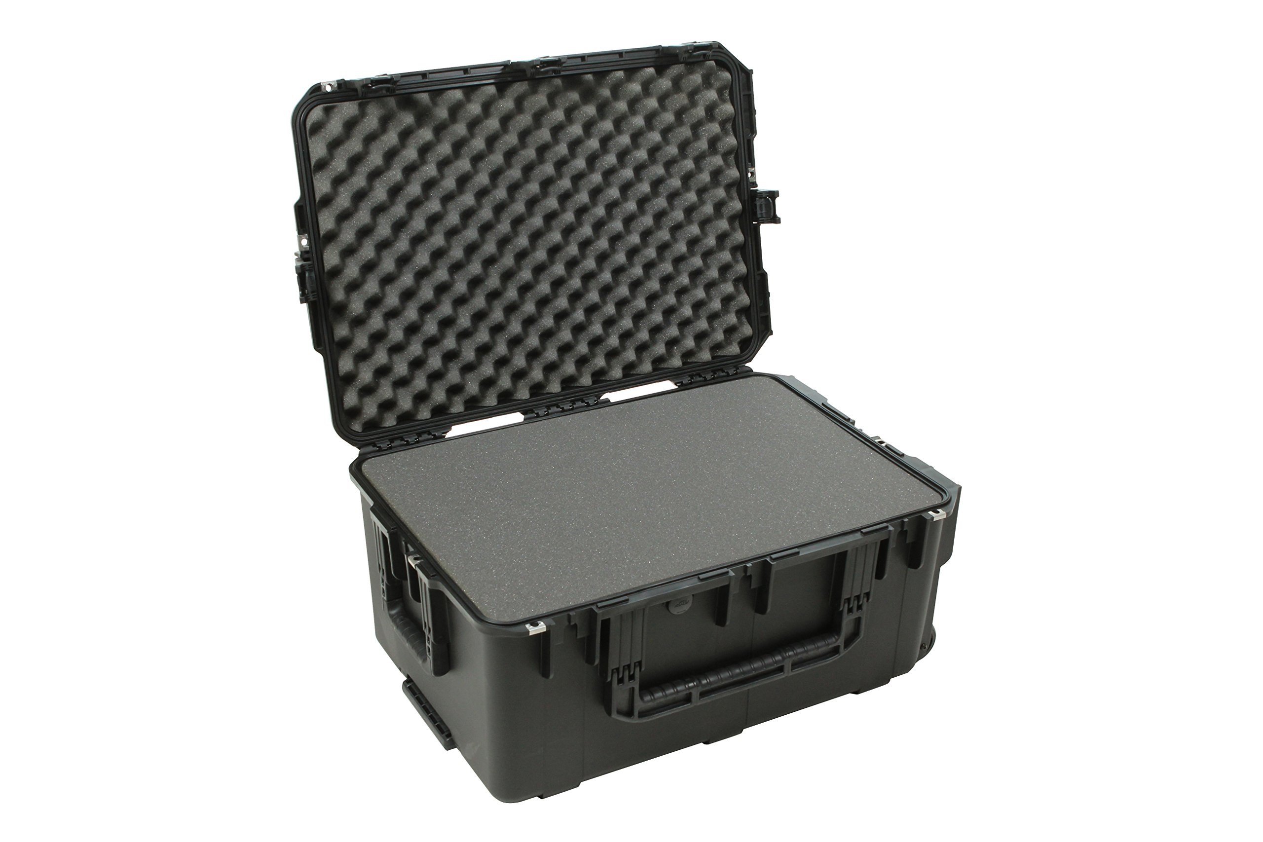 SKB 3I-2617-12BC Mil-Std Waterproof Case with Wheels and Cubed Foam