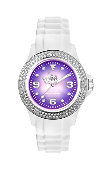 ICE-Watch Reloj analogico para Mujer de Cuarzo con Correa en Caucho IPE.ST.WSH.U.S.12: Amazon.es: Relojes