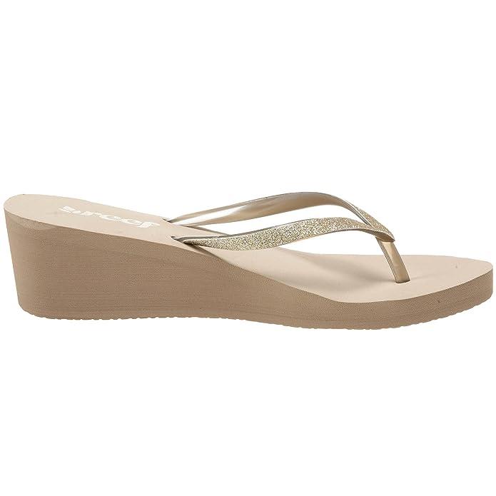Reef Krystal Star - Sandalias de caucho para mujer, color gris, talla 43