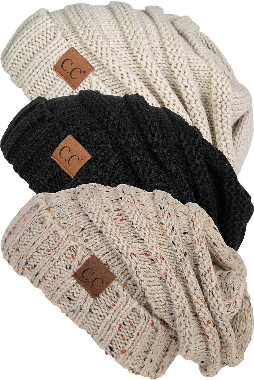 【代引き不可】 Funky Junque HAT - レディース B07MQFYSCB 3 Pack - - 3 Black, Beige & Oatmeal Confetti 3 Pack - Black, Beige & Oatmeal Confetti, おひさまくらぶ:ff96f69d --- irlandskayaliteratura.org