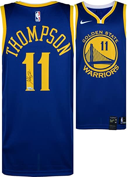 Klay Thompson Golden State Warriors Autographed Blue Nike Swingman Jersey - Fanatics  Authentic Certified 54de26ac8