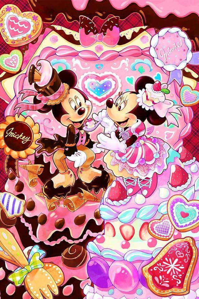 ディズニー スイーツタイム iPhone(640×960)壁紙画像