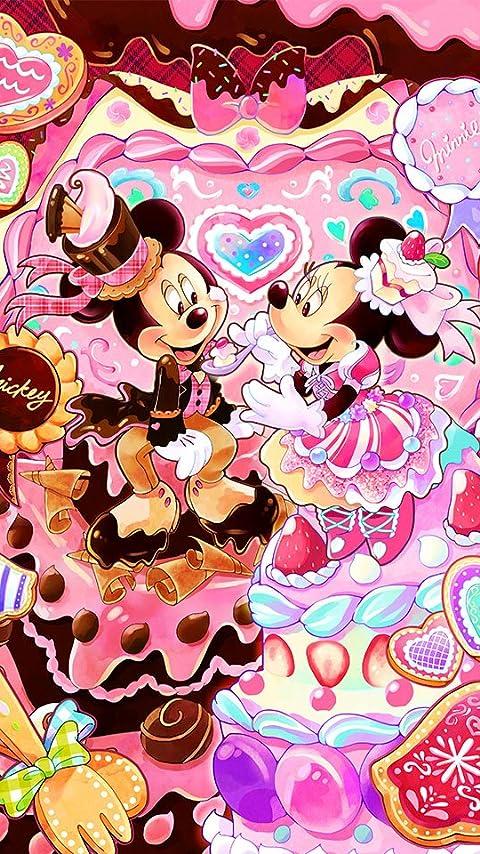 ディズニー スイーツタイム XFVGA(480×854)壁紙画像