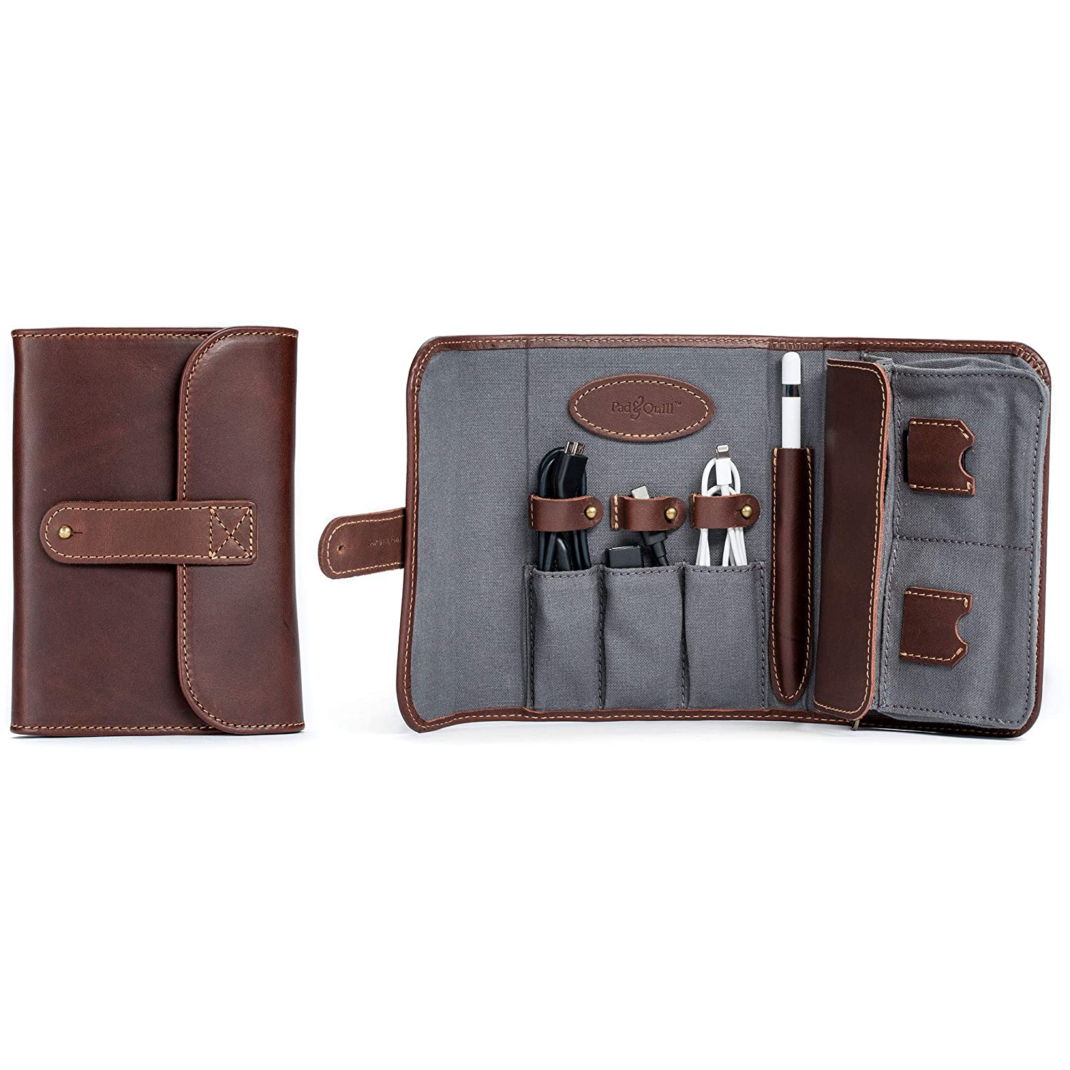 The Techfolio Cord Organizer travel product recommended by Brian Holmes on Lifney.