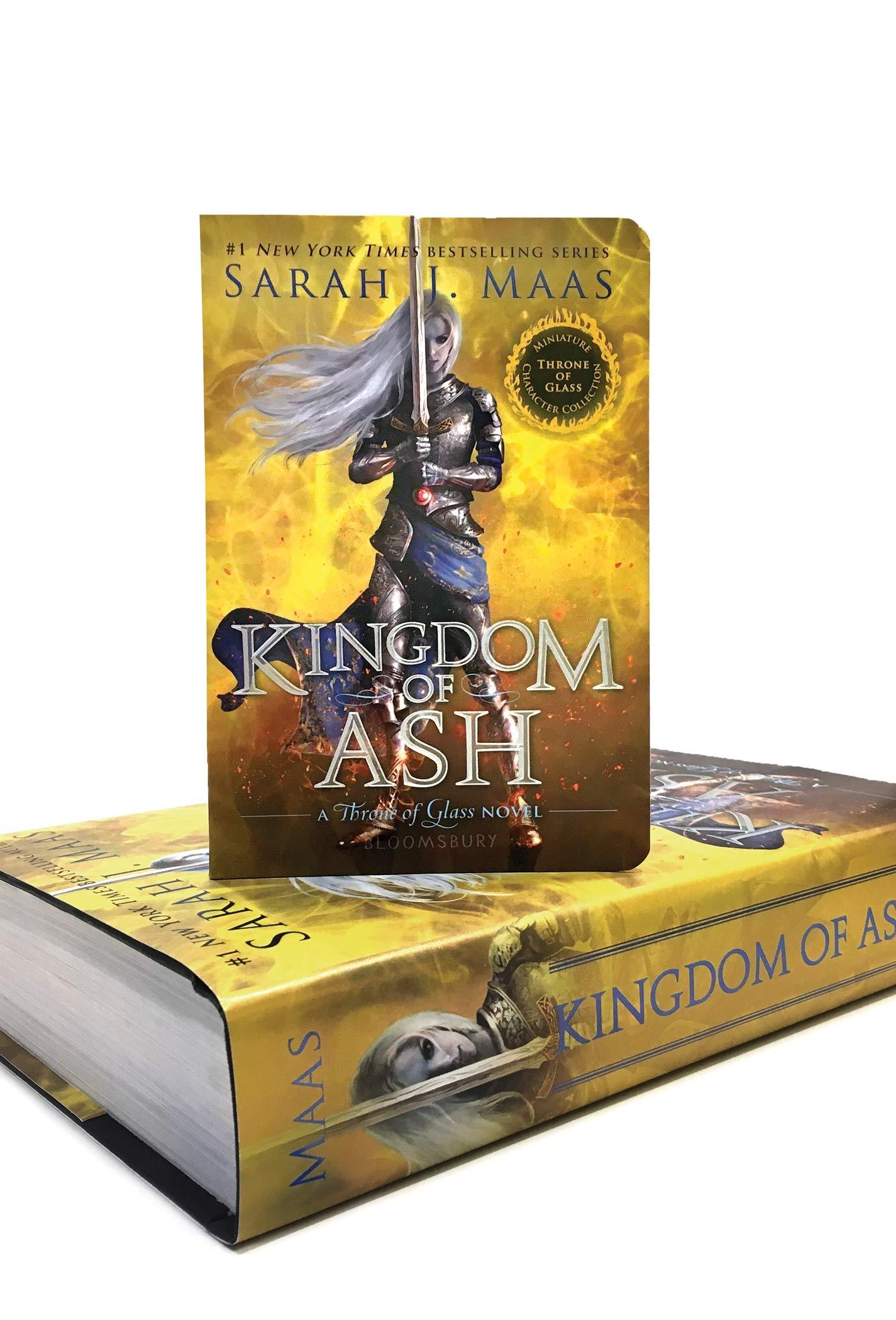 Kingdom of Ash Miniature Character Collection Throne of Glass: Amazon.es: Maas, Sarah J.: Libros en idiomas extranjeros