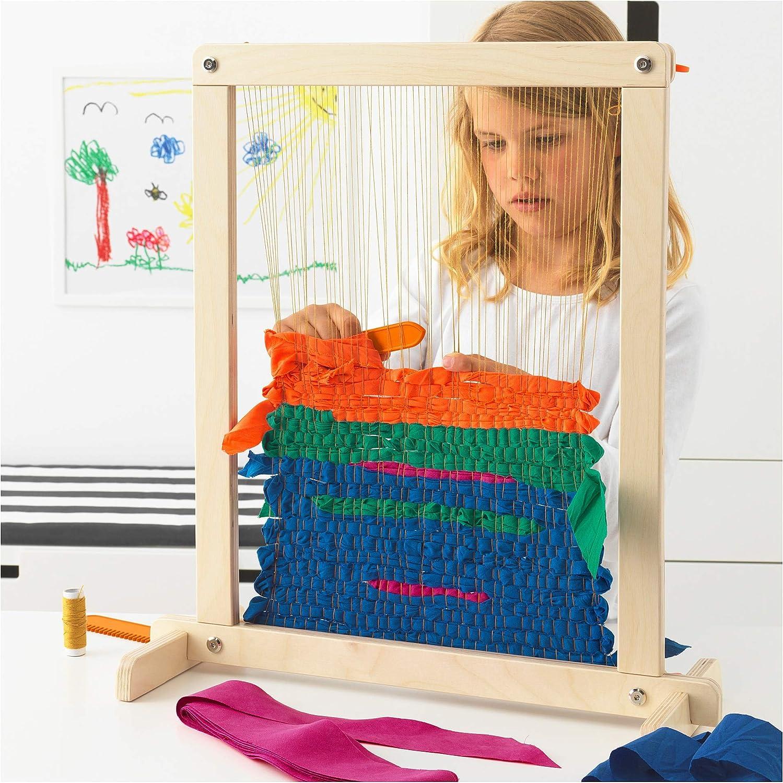 IKEA. 003.870.54 Lustigt 7Piece Weaving Loom Set