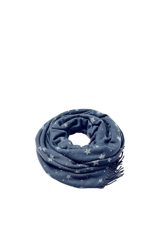 ESPRIT Damen Schal Blau (Navy 400) Esprit Accessoires 088EA1Q014