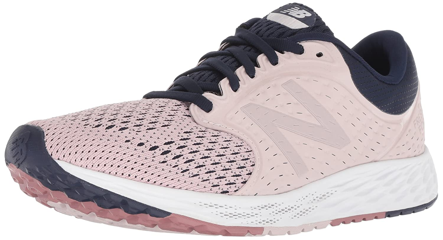 New Balance Women's Zante V4 Fresh Foam Running Shoe B075R756MC 9 B(M) US|Light Pink