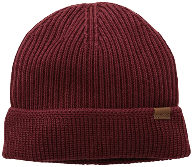 9401926d713 Kangol Men s Squad Fully Fashioned Cuff Pull-On Cap  Amazon.ca  Clothing    Accessories