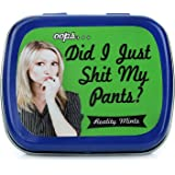 Oops Did I Just Shit My Pants Mints – Trusted a Fart – Funny Gifts for Men – Funny Mint Tins - Stocking Stuffers – Peppermint Mints – Fart Gifts – Shart Gag Gifts - Reality Mints