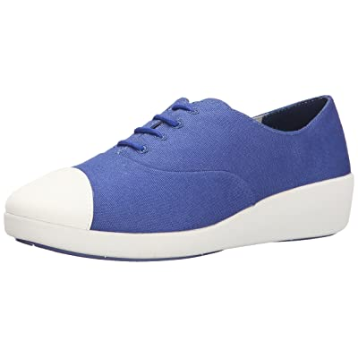 FitFlop Women's F Pop Canvas Oxford | Fashion Sneakers