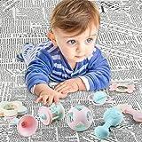 EFOSHM 10PCS Baby Rattles Teether Set, Grasping