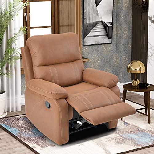 LENTIA Recliner Chair Single Recliner Sofa High Back Leather Office Chair 34″ W X 37″ D X 39.5″ H