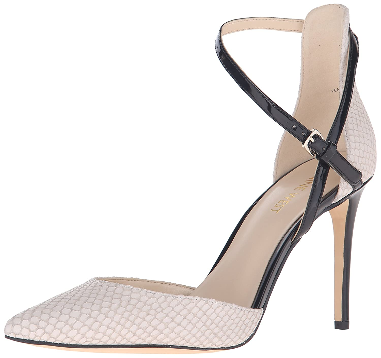 Nine West Women's Taragon Leather Dress Pump, Off White/Black, 11 M US:  Amazon.ca: Shoes & Handbags