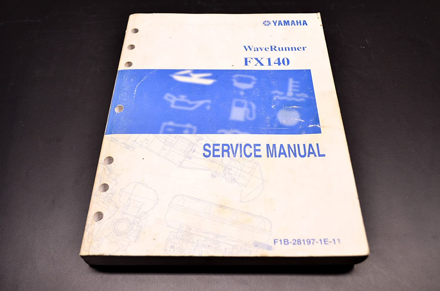 Amazon.com: Yamaha Factory Service Manual / 2002 FX1000A FX140 / Pt #  LIT-18616-02-38: Automotive