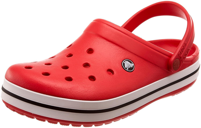 crocs Unisex Erwachsene Crocband Clogs Rot (Red) Billig und erschwinglich Im Verkauf