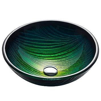 Kraus Gv 391 19mm Nei Glass Vessel Bathroom Sink Amazoncom
