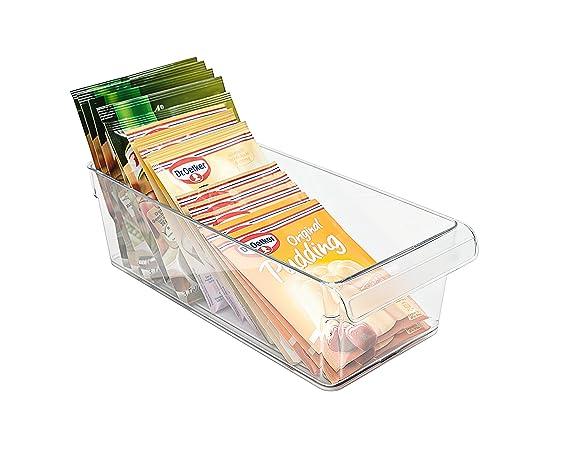 Kühlschrank Organizer Stapelbar : Rotho 1000100096 organizer für den kühlschrank plastik klar größe