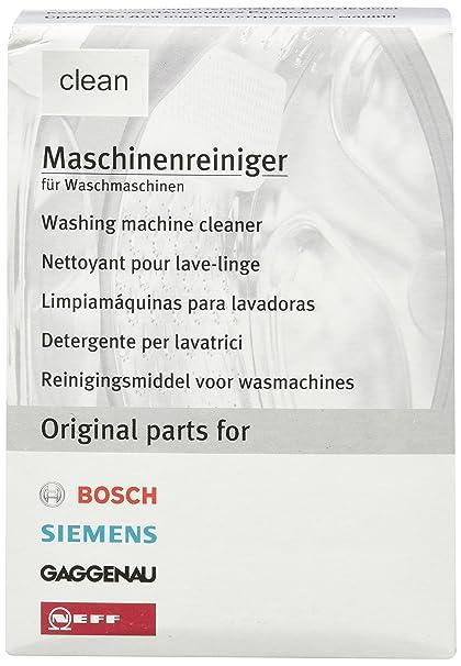 Bosch - Limpiamáquinas para lavadoras: Amazon.es: Grandes ...