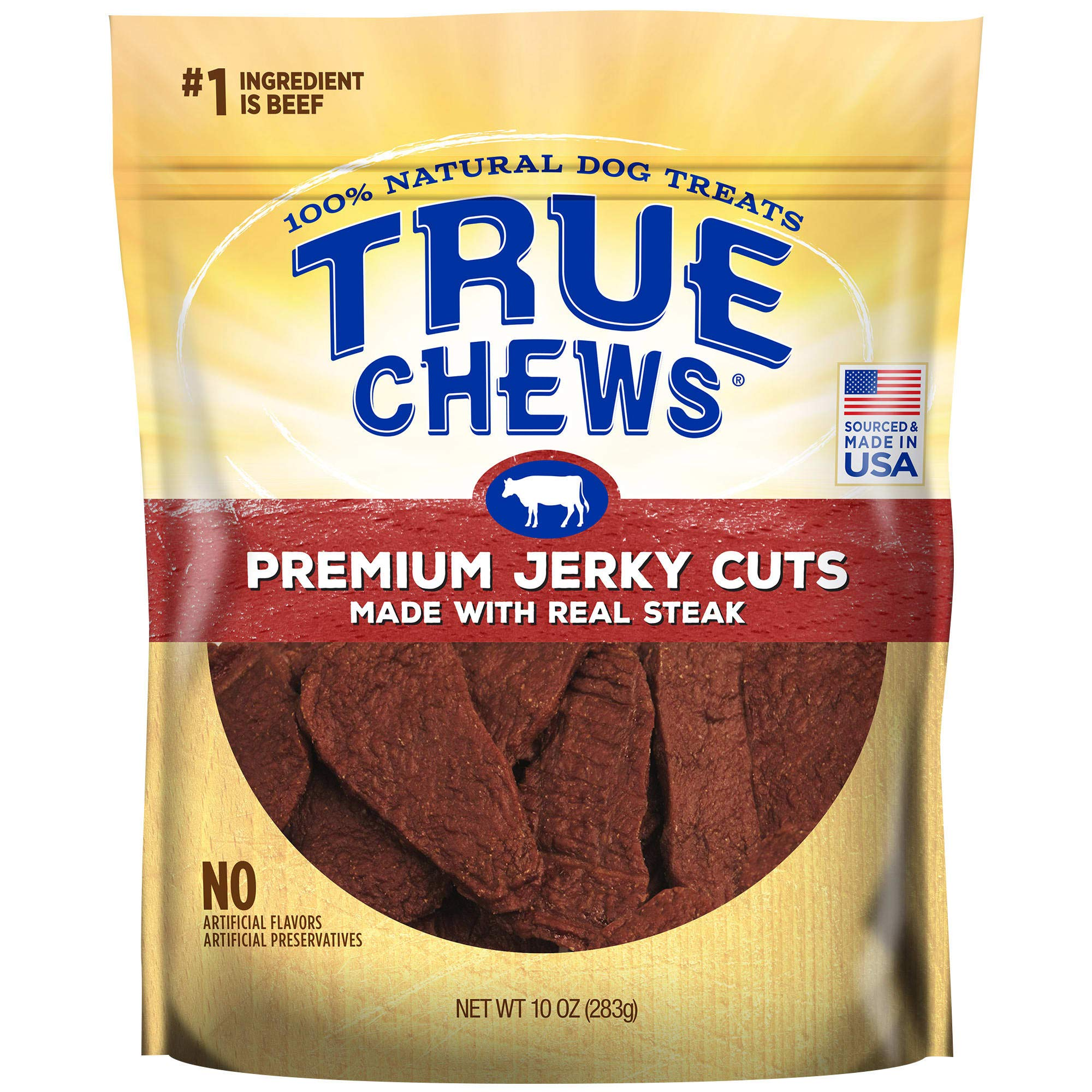 True Chews Premium Jerky Cuts Made with Real Steak