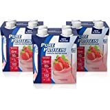 Pure Protein Complete Ready To Drink Shakes, High Protein Strawberry 11oz, 12 Count