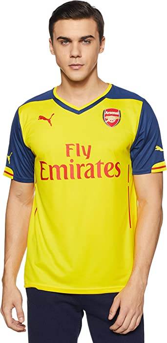 PUMA Arsenal FC Away Jersey - Adult - Empire Yellow/Estate Blue -