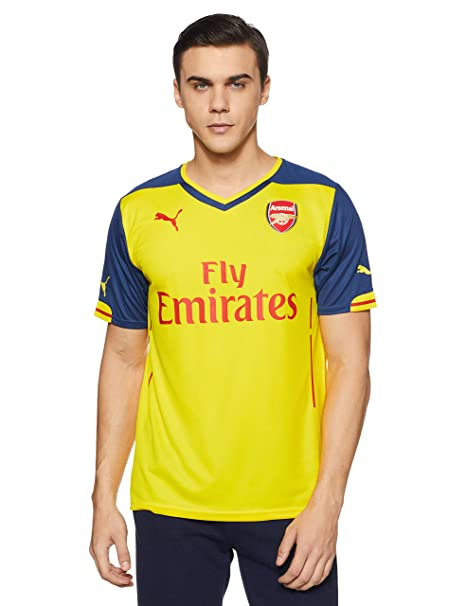 23946ea0333 Amazon.com   Puma Arsenal FC Away Jersey - Adult - Empire Yellow ...