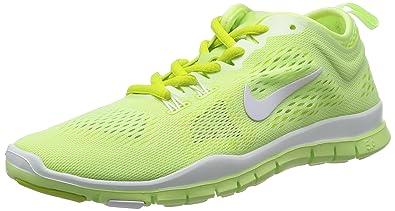 Nike Women's Free 5.0 TR Fit 4 Breath Liquid Lime/White/Venom Green Running