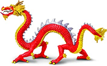 Safari Dragón Chino con Cuernos: Amazon.es: Juguetes y juegos