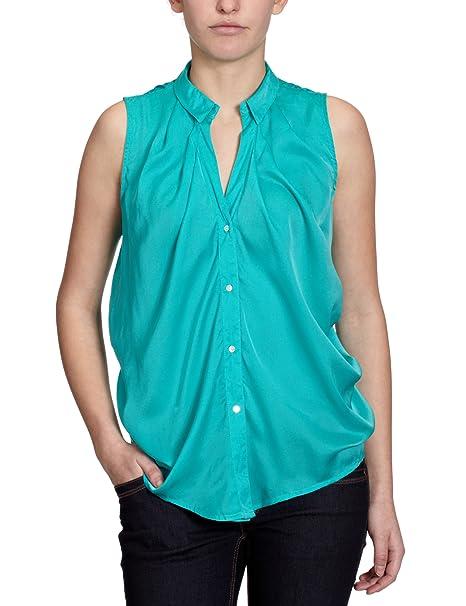 Vero Moda Blusa para mujer, talla 40, color Verde (Ceramic Green)