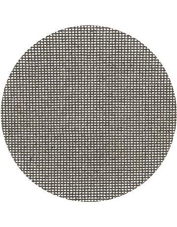 Silverline 323921 Discos de Lija Autoadherentes con Malla Abrasiva, 225 mm Diámetro, Grano 180