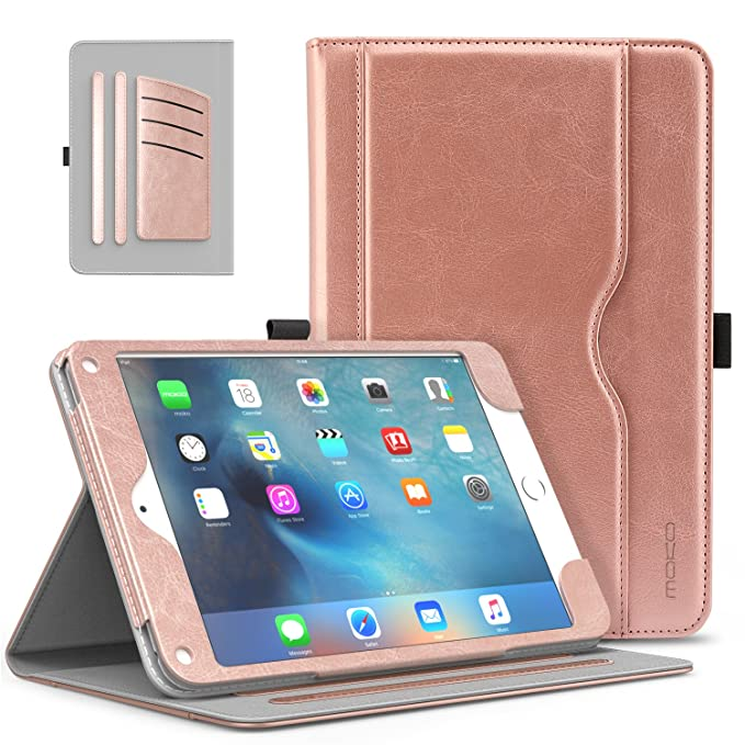 MoKo Funda iPad Mini 4-Estuche rígido de plegado plegable para Apple iPad Mini 4 7.9