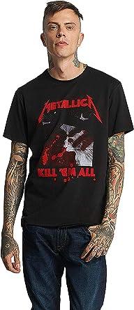 Amplified Metallica - Kill Em All Camiseta para Hombre: Amazon.es: Ropa y accesorios