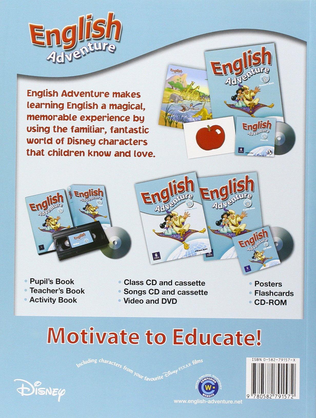 English Adventure Starter B Pupils Book