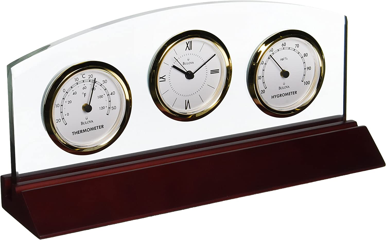 Bulova Weston Executive Clock