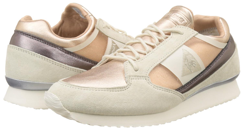 cff3c43cbc8e Le Coq Sportif Women s ECLAT ATL Metallic Leather Mix Bass Trainers   Amazon.co.uk  Shoes   Bags