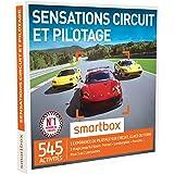SMARTBOX - Coffret Cadeau - SENSATIONS CIRCUIT ET PILOTAGE - 500 activités : stages jusqu'à 3 tours : Lamborghini, Ferrari , Porsche