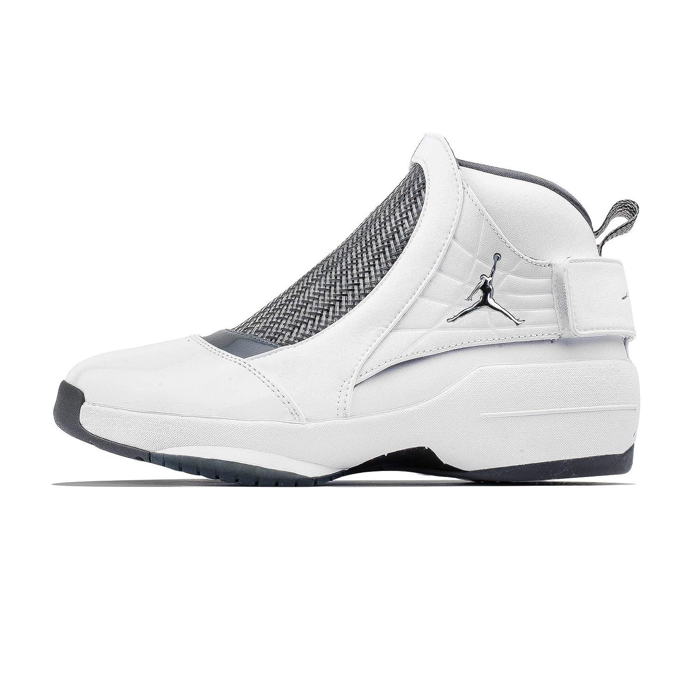 8f44c9fe3aca1 Amazon.com   Nike Air Jordan XIX 19 White Flint Grey AQ9213-100 US ...