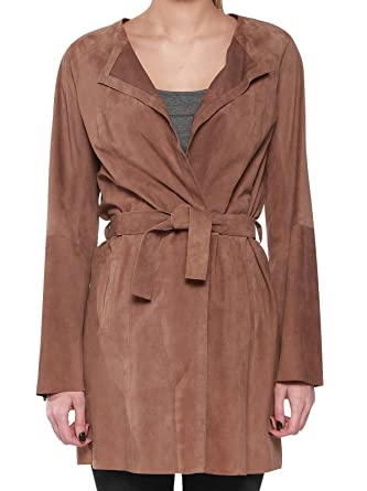 Couleur Trench Femme Cleo Beige Cuir Taille Pellessimo q1HC7xwTvw