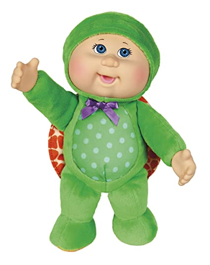 Amazon Com Cabbage Patch Kids 9 Perry Turtle Cutie Doll Toys Games