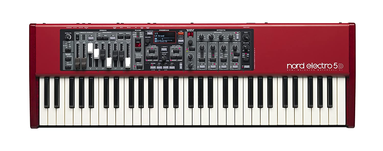 Amazon.com: Nord Electro 5 HP73 Velocity Sensitive 73-Key Hammer Action Portable Keyboard (NELECTRO5-HP73): Musical Instruments