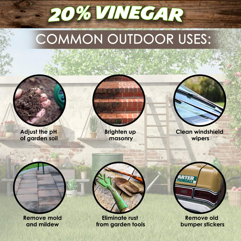 20% Vinegar | Industrial Strength Natural Vinegar | Multi Purpose - 5 Gallon Pail by Green Gobbler (Image #5)