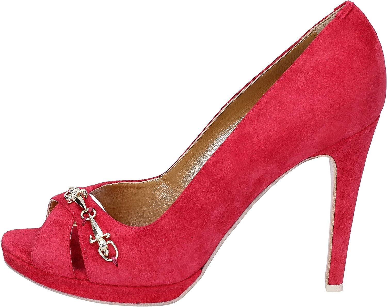 CESARE PACIOTTI Zapatos de salón Mujer Gamuza Rojo