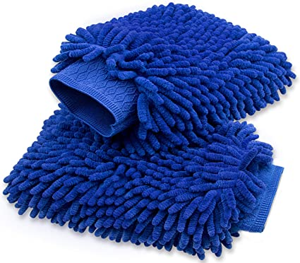 Car Wash Mitt 2 Pack