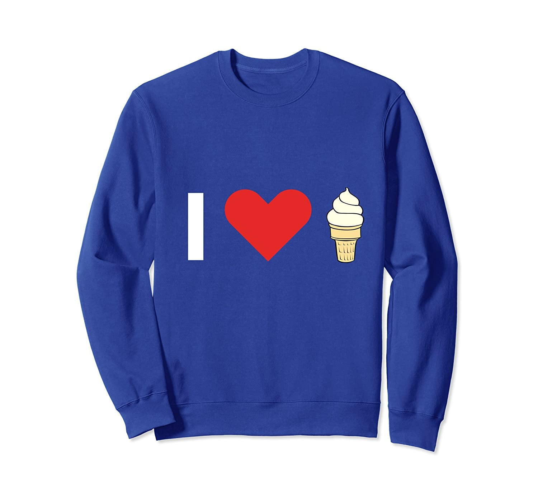 I Love Ice Cream - Sweatshirt-ln