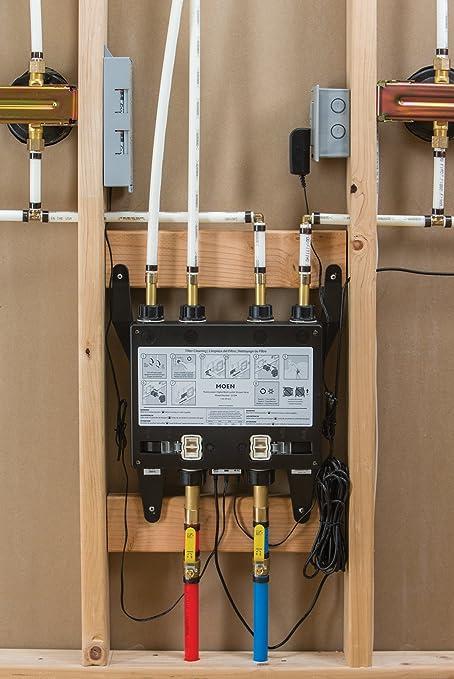 Moen S3104 Bathroom Shower U By Moen Digital Thermostatic Shower Valve 4 Outlet 4 Outlet