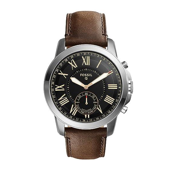Fossil Grant Smartwatch Híbrido de Movimiento de Cuarzo para ...