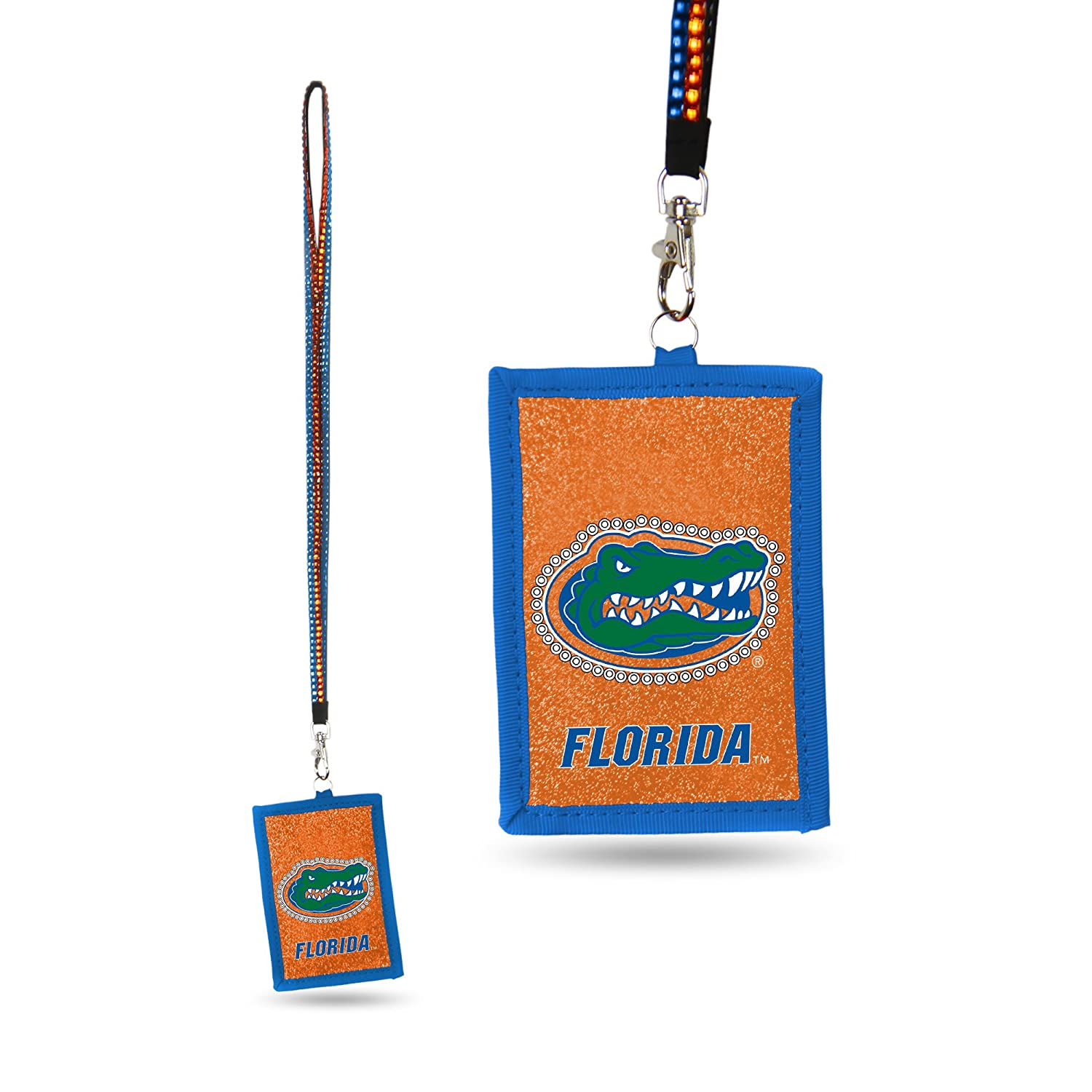 ONLY A Few Left! Luggage Spotter Florida Gators Beaded Lanyard Nylon Zippered Wallet Closeout