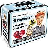 Aquarius I Love Lucy Vitameata Large Tin Fun Box
