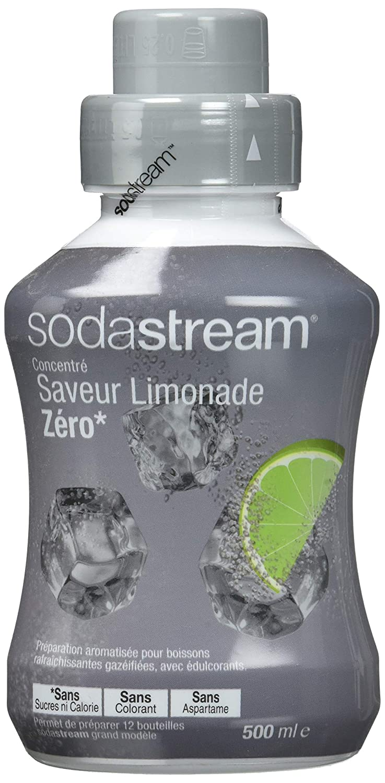 Ml 500 Sodastream Zéro Concentré Saveur Limonade Sirop 5ARLq34j
